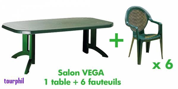 Salon de jardin pvc vert - Abri de jardin et balancoire idée