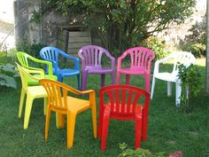 Renover salon de jardin plastique blanc - Abri de jardin et ...