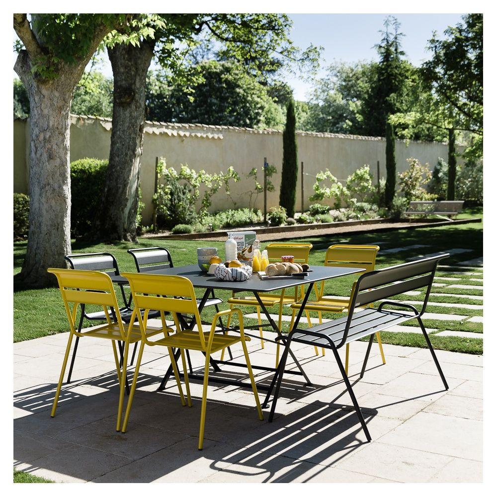 Table de salon de jardin fermob - Abri de jardin et ...