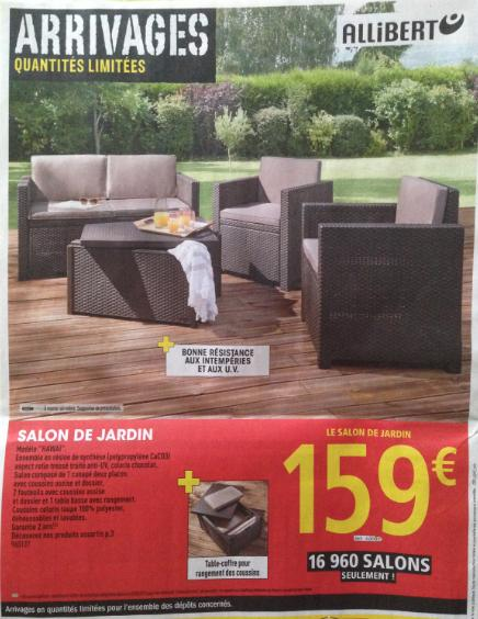 Salon De Jardin Allibert Castorama