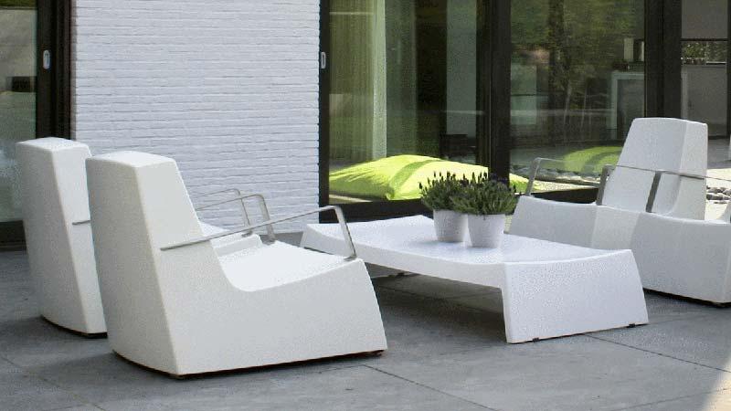 Salon de jardin fil plastique - Abri de jardin et balancoire idée