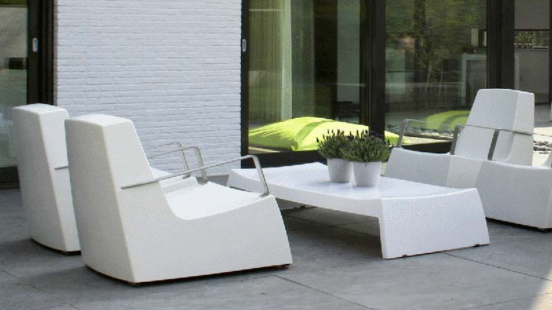 Salon de jardin bas plastique - Abri de jardin et balancoire idée