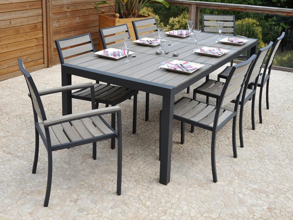 Salon de jardin en aluminium avis - Abri de jardin et ...