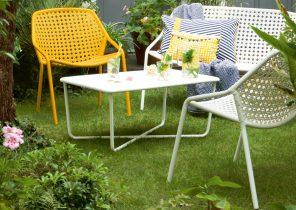 Salon de jardin malaga taupe - Abri de jardin et balancoire idée