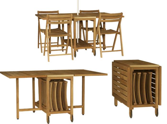Salon de jardin pliable en bois pas cher - Abri de jardin et ...