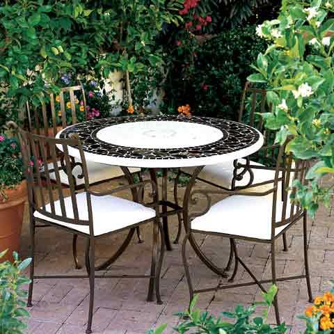 Salon de jardin en fer forgé occasion - Abri de jardin et ...