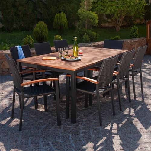 Salon bas de jardin barcelona - Abri de jardin et balancoire idée