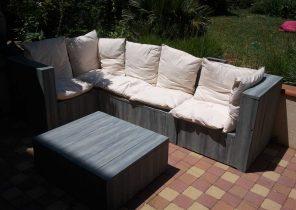 Salon de jardin bas bois - Abri de jardin et balancoire idée