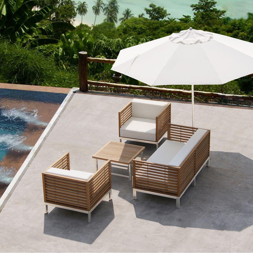 Mobilier de jardin blanc pas cher - Abri de jardin et balancoire idée