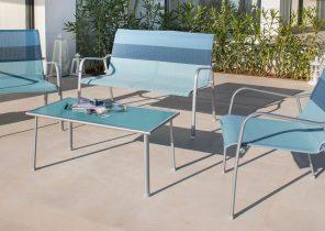Table salon de jardin occasion - Abri de jardin et balancoire idée