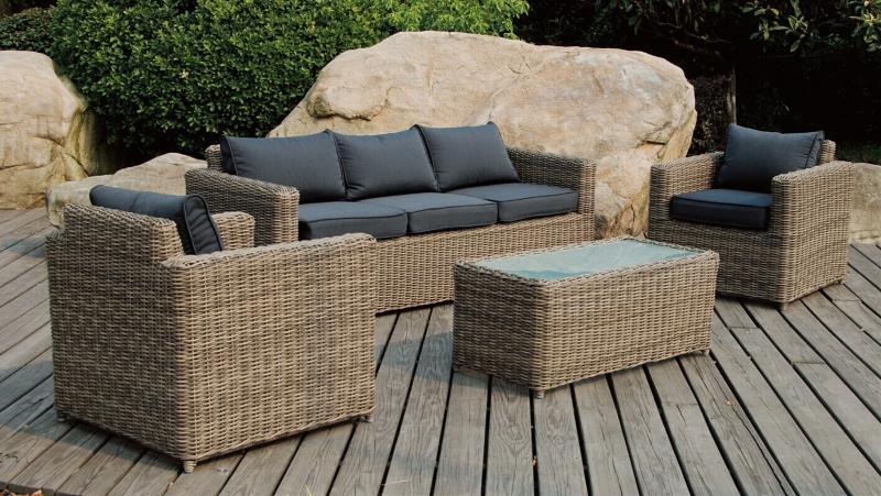 Stunning Salon De Jardin En Resine Tressee Noire Modele Lounge Ideas ...