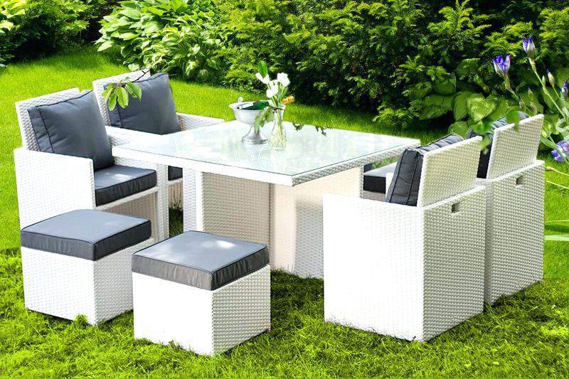Blanchir un salon de jardin blanc - Abri de jardin et ...