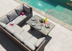 Le roy merlin salon de jardin kansas - Abri de jardin et balancoire idée