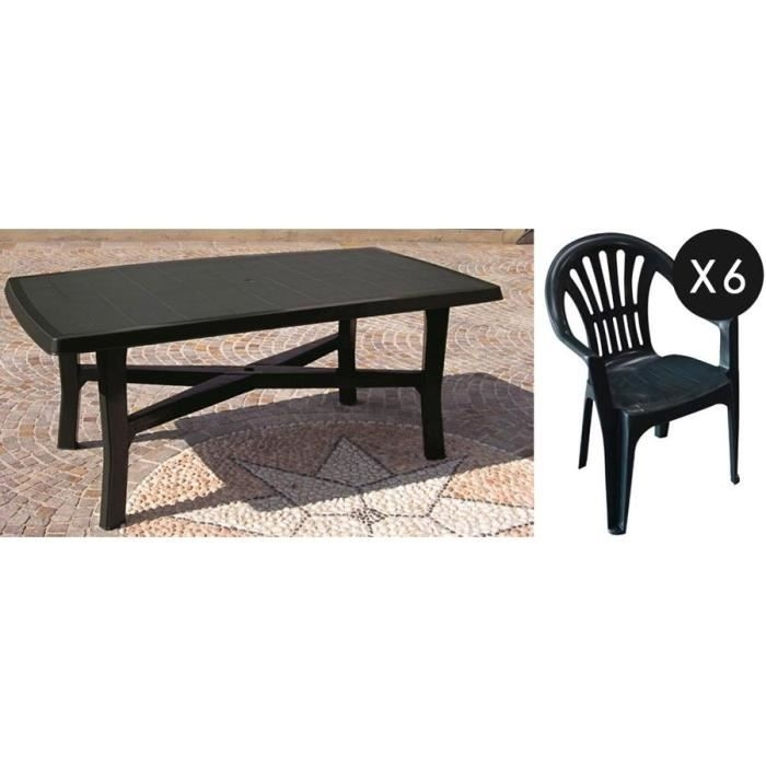salon de jardin plastique gris anthracite abri de jardin. Black Bedroom Furniture Sets. Home Design Ideas