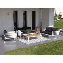 Salon de jardin en aluminium composite - Abri de jardin et ...
