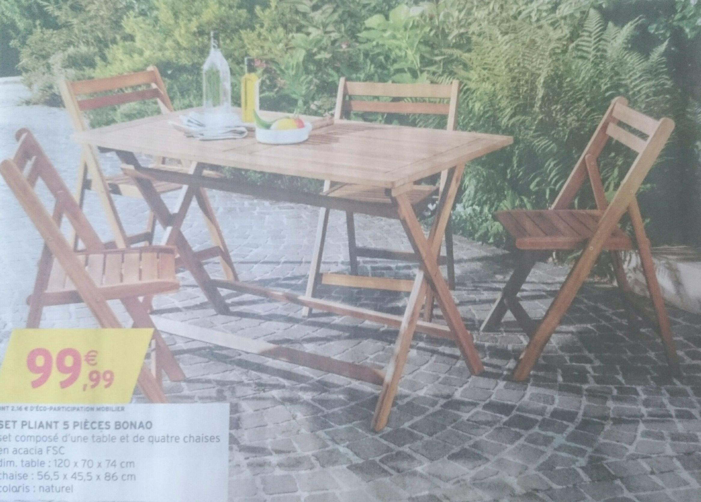 Salon de jardin acacia weldom - Abri de jardin et balancoire idée
