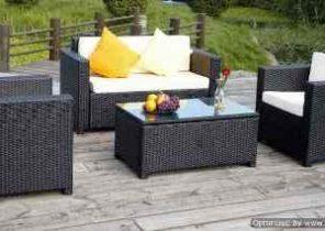 Salon de jardin pour terrasse bois - Abri de jardin et ...