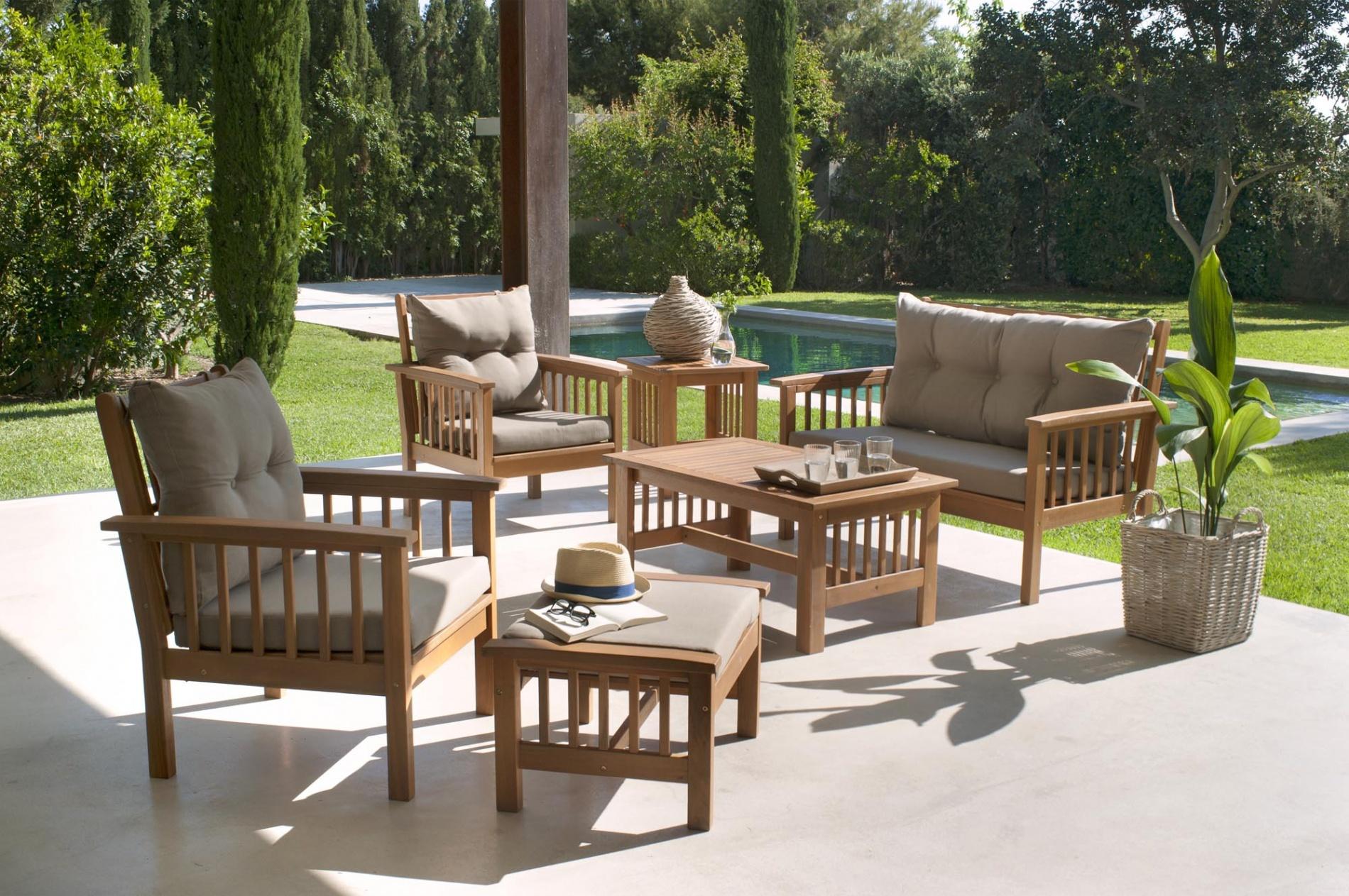 Salon de jardin acacia hanoi - Abri de jardin et balancoire idée