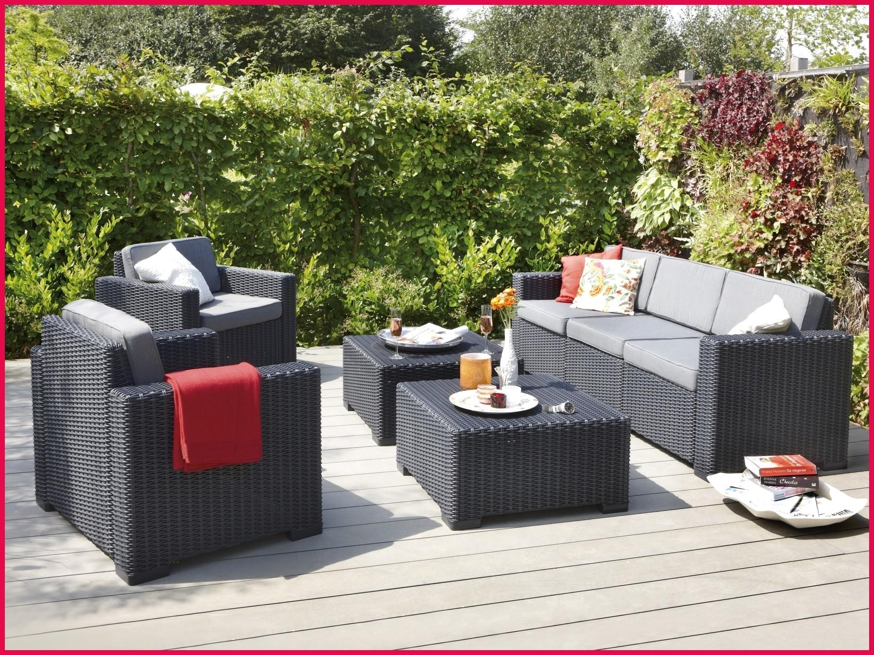 Salon de jardin california allibert 5 places - Abri de jardin et ...