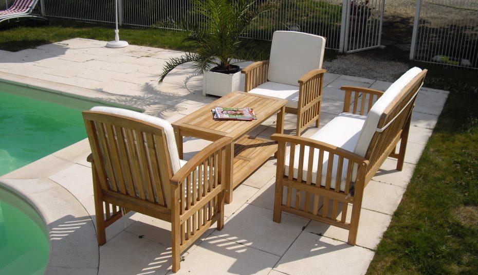 Salon de jardin bas en bois leclerc - Abri de jardin et balancoire idée