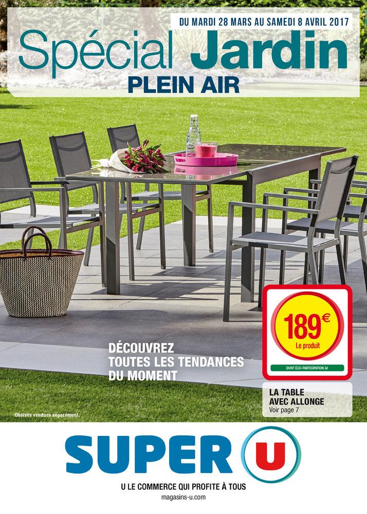 Catalogue mobilier de jardin hyper u