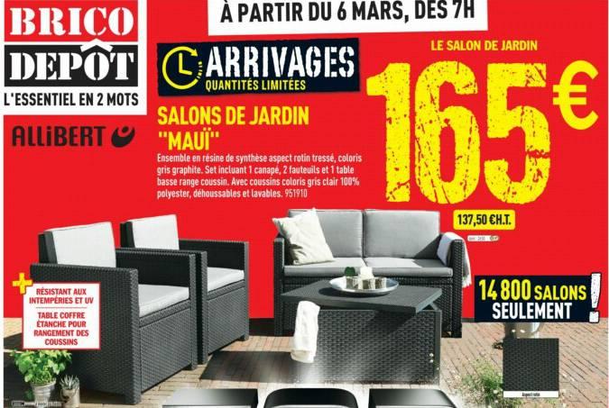 Beautiful Salon De Jardin Gris Leclerc Images - House Design ...