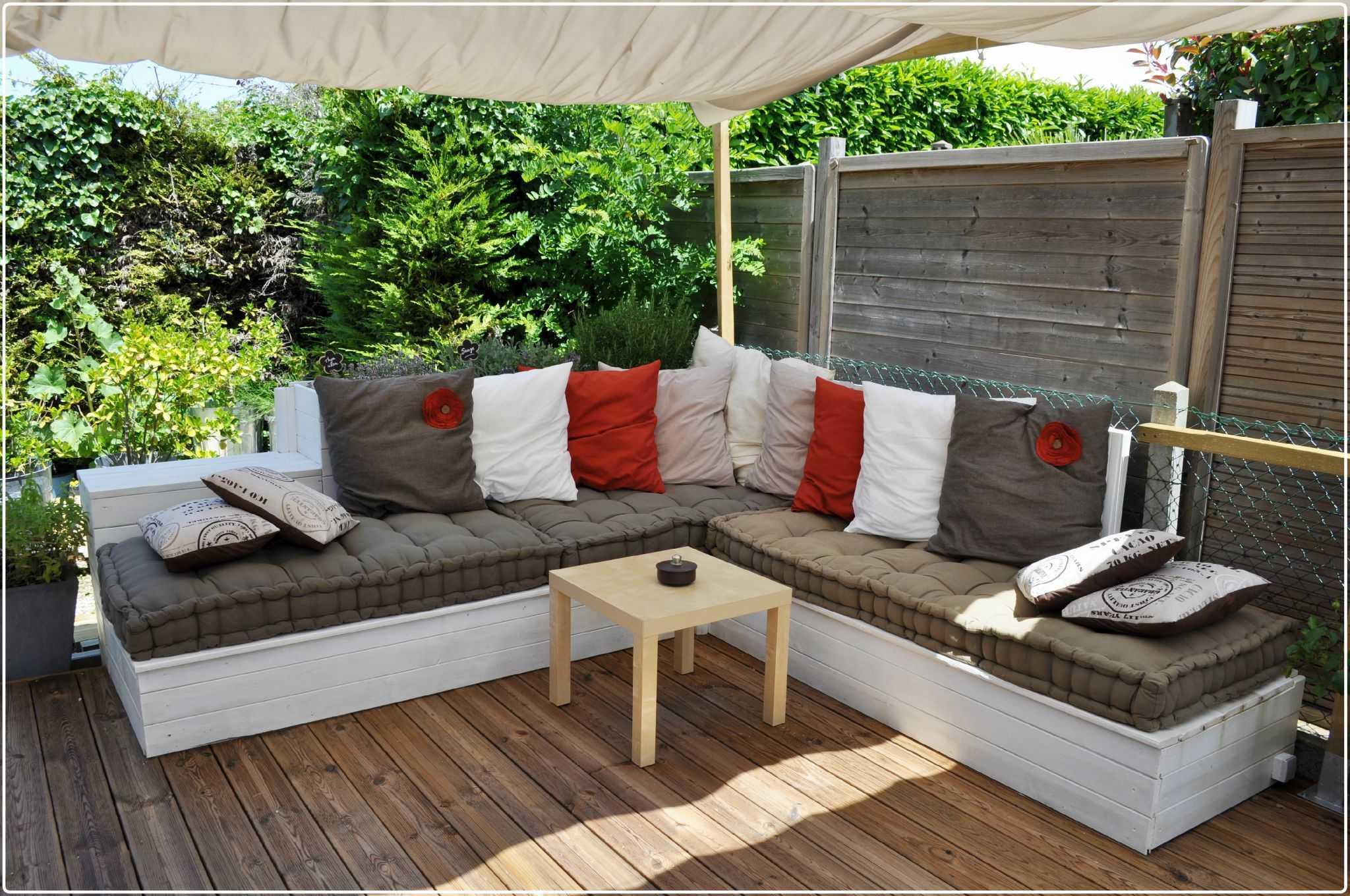 Creer son salon de jardin en bois - Abri de jardin et ...