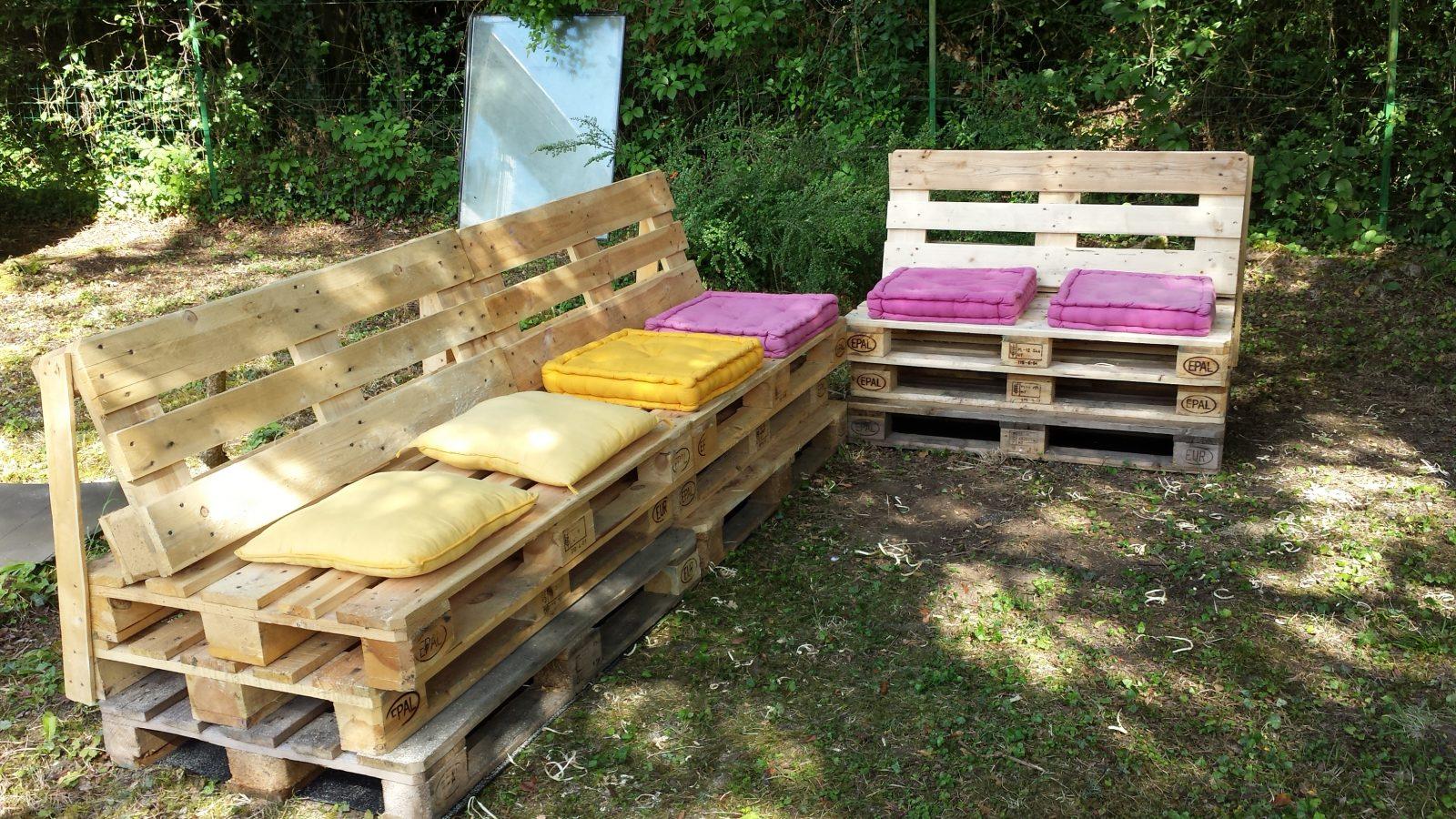 Comment fabriquer salon de jardin avec des palettes - Abri de jardin ...