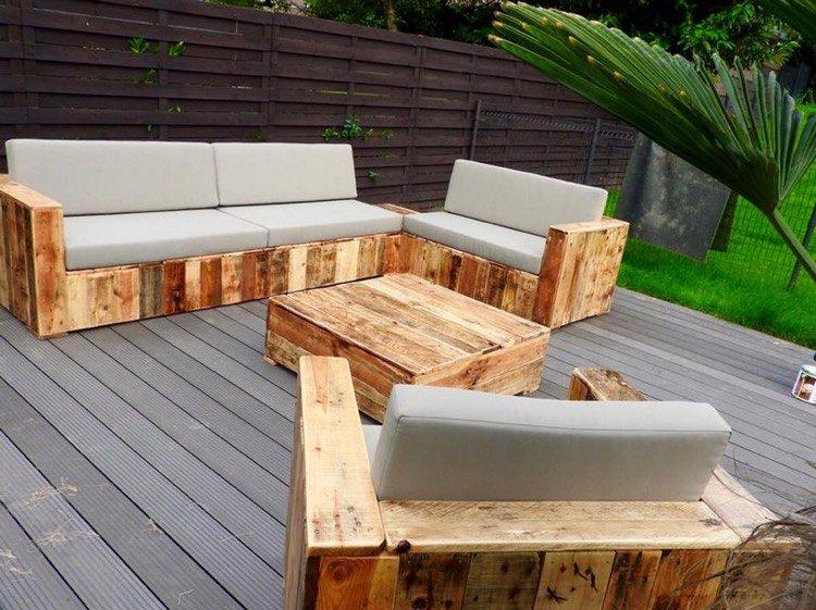 Fabriquer son salon de jardin en bois abri de jardin et - Fabriquer son salon de jardin en bois ...