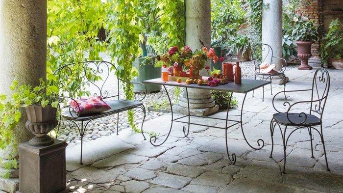 Salon de jardin en fer forgé castorama - Abri de jardin et ...