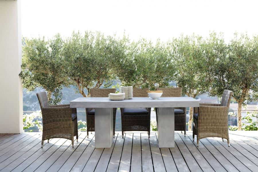 Table salon de jardin fait maison - Abri de jardin et ...