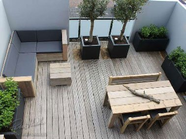 Quel salon de jardin sur terrasse bois - Abri de jardin et ...