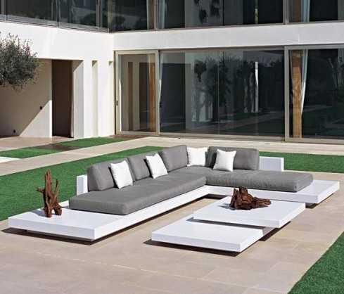 Mobilier de jardin design luxe - Abri de jardin et ...