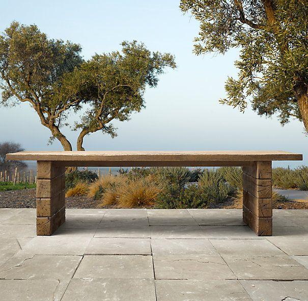 Salon de jardin en bois rustique - Abri de jardin et balancoire idée