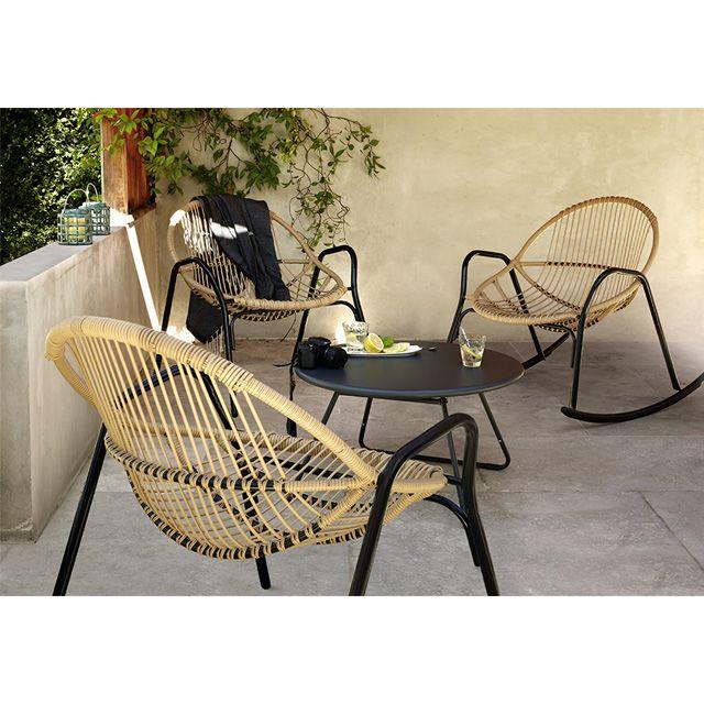 Salon de jardin rotin castorama - Abri de jardin et balancoire idée