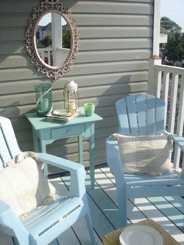 Repeindre un salon de jardin en rotin - Abri de jardin et balancoire ...