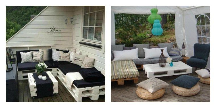 Petit salon de jardin moderne - Abri de jardin et balancoire ...