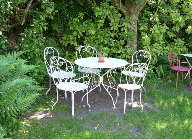 Mobilier Jardin Fer Best With Mobilier Jardin Fer Amazing Des