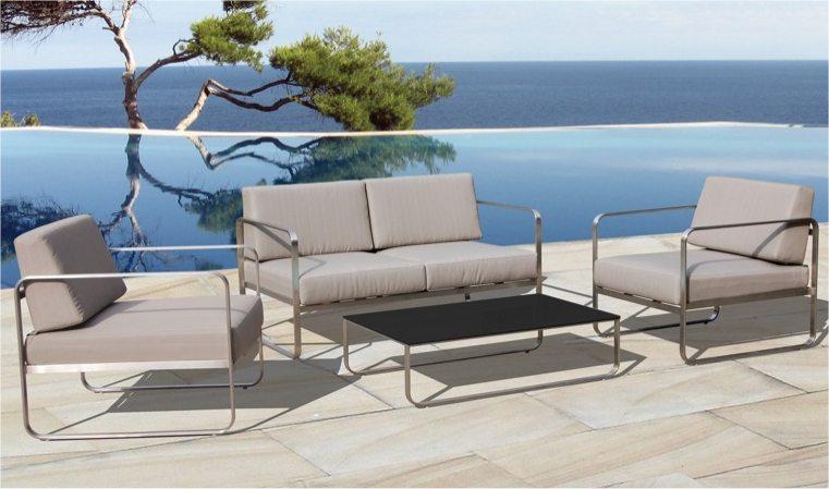 Awesome Salon De Jardin Alu Brosse Images - House Design ...