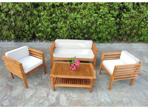 Beautiful Salon Jardin Bambou Soldes Ideas - House Design ...