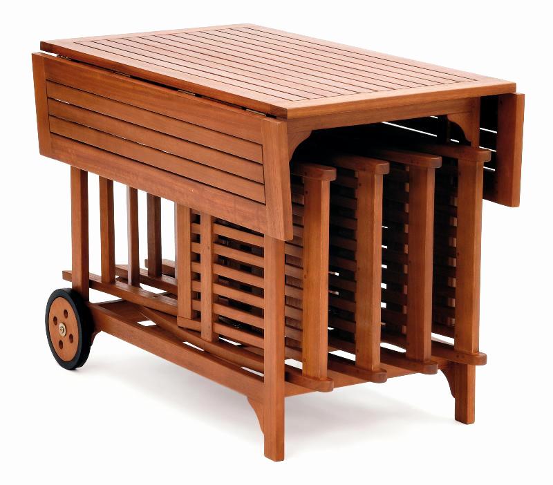 Salon de jardin teck pliable - Abri de jardin et balancoire idée