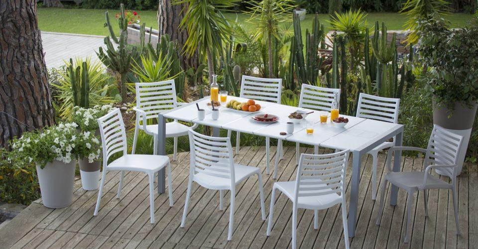 Mobilier de jardin en plastique design - Abri de jardin et ...