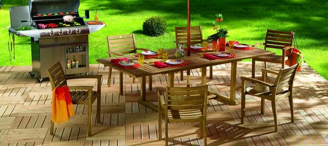 Salon de jardin mr bricolage bois - Abri de jardin et balancoire idée