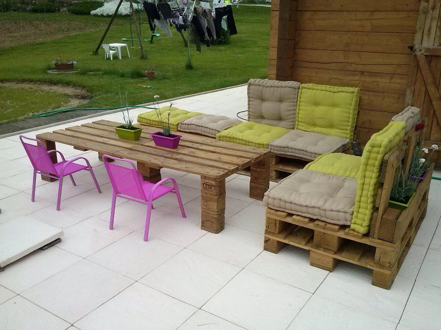 Salon de jardin acacia mr bricolage - Abri de jardin et ...