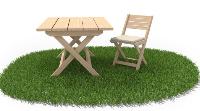 Décaper un salon de jardin en teck - Abri de jardin et ...