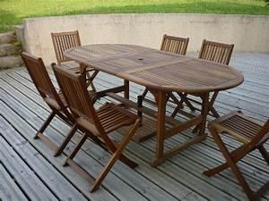 Nettoyer un salon de jardin en bois - Abri de jardin et balancoire idée