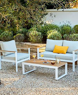 Salon de jardin en resine gifi - Abri de jardin et ...