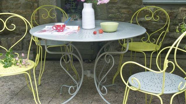Quelle peinture pour salon de jardin en plastique abri de jardin et balancoire id e - Peinture pour salon de jardin ...