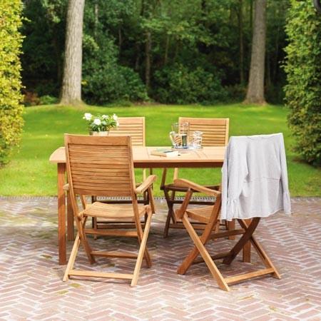 Nettoyer un salon de jardin en bois exotique - Abri de jardin et ...