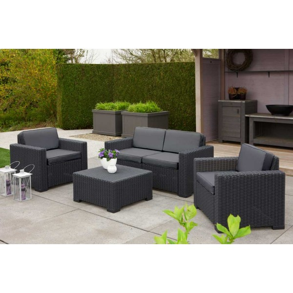 salon de jardin allibert 4 places abri de jardin et balancoire id e. Black Bedroom Furniture Sets. Home Design Ideas